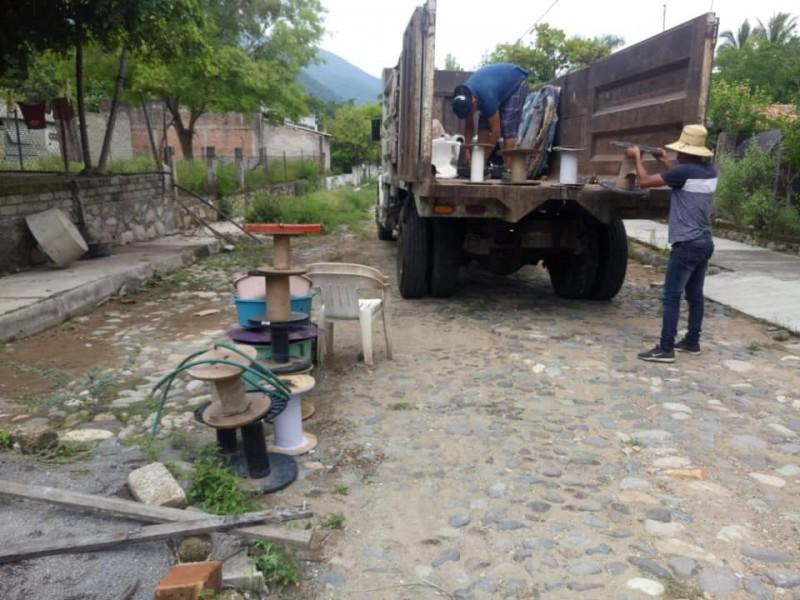 Descacharrización en comunidades con alto riesgo de dengue