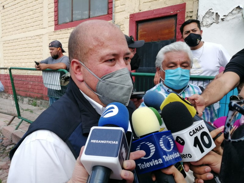 Descalifica gobernador Alfaro contrapropuesta de pobladores sobre presa El Zapotillo