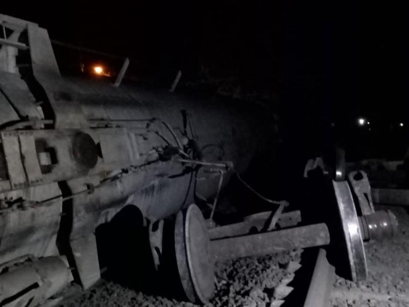 Descarrila tren en Amatlán