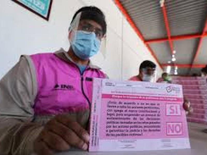 Descarta INE apoyo explicativo a ciudadanos durante Consulta Popular