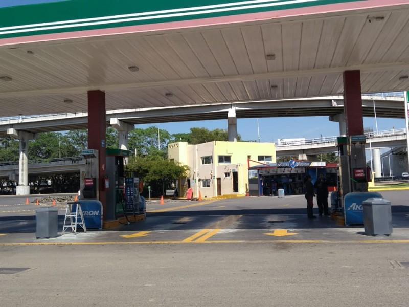 Descartan cierre de gasolineras por desabasto de combustible