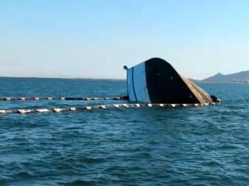 Descartan contaminación por derrame de combustible, tras choque de barcos