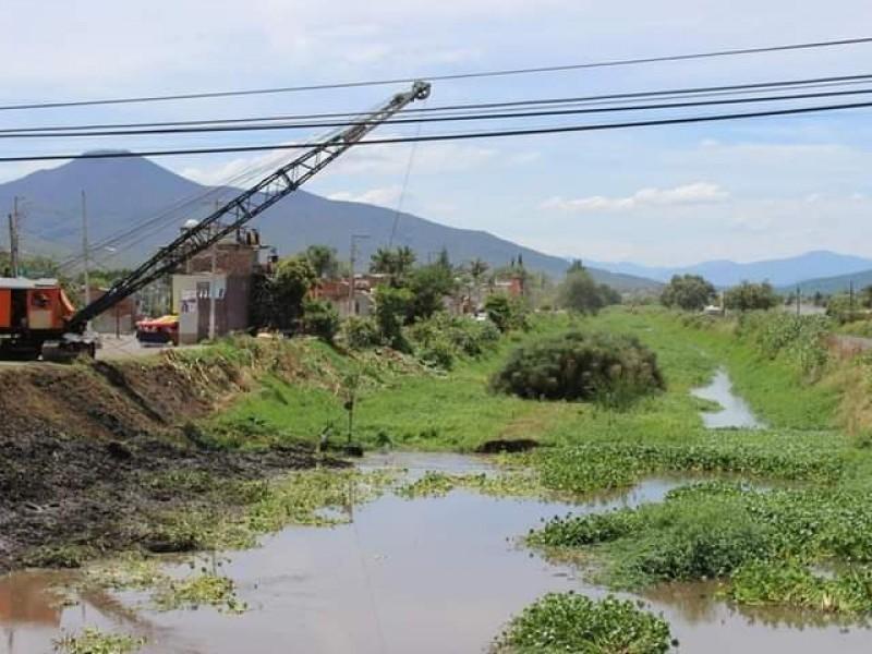 Descartan posible desbordamiento de afluentes al poniente de Zamora