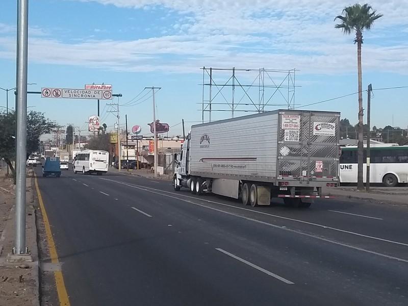 Descartan problemas de transporte de cargas