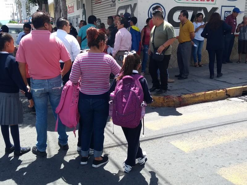 Desconcierto genera balacera de esta tarde en Tehuacan