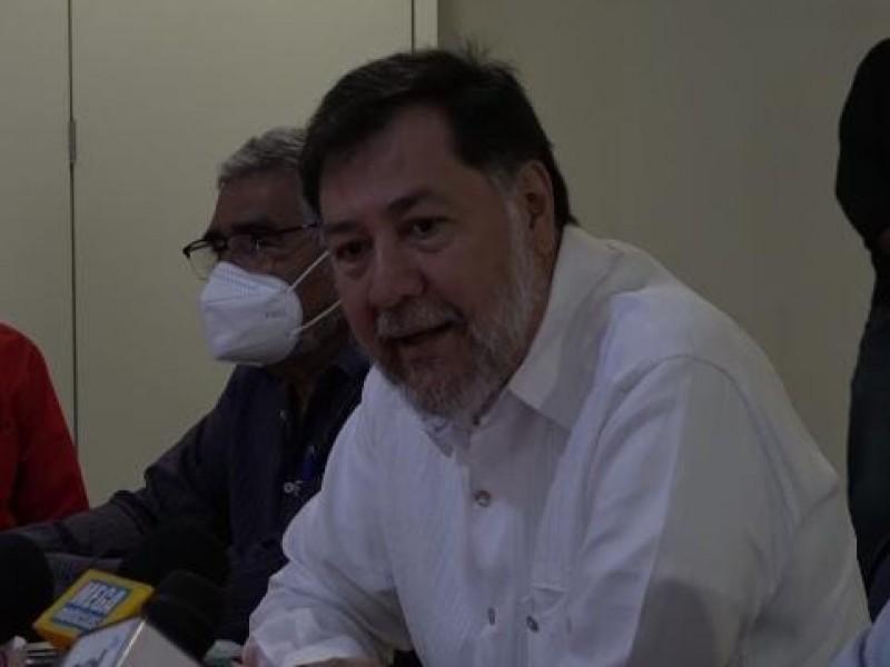 Desconfía Fernández Noroña de Ordaz Coppel