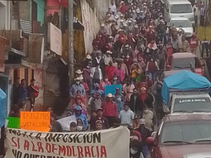 Desconocen a Concejo Municipal de Siltepec