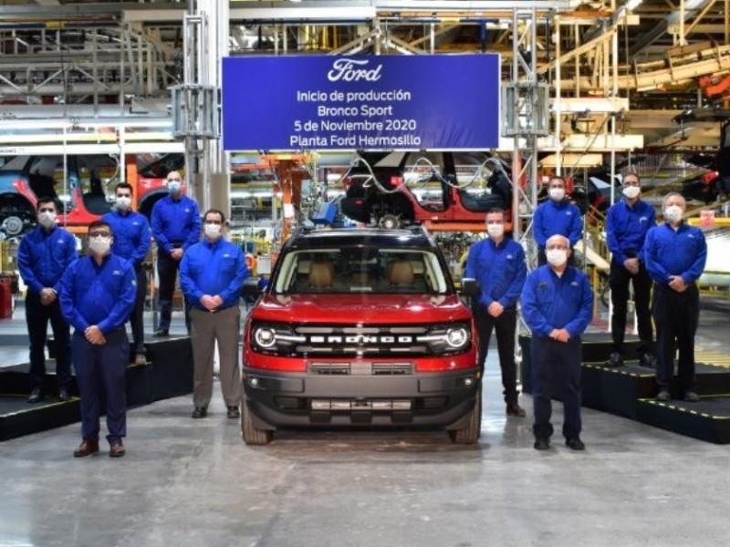 Desconocen empleados de Ford motivo de paros recientes de producción