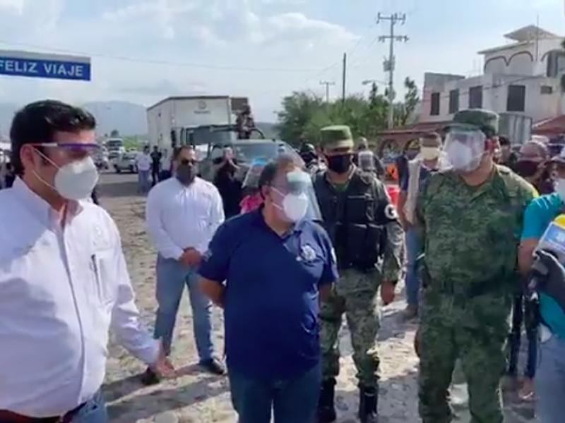 Descontento por cuarentena en Jala y Jomulco