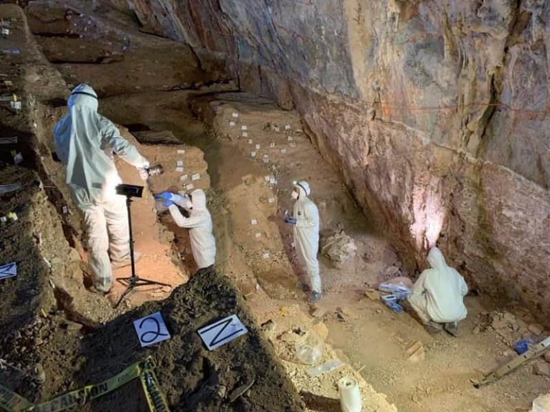 Descubren evidencia humana de 30 mil años, Concepción del Oro