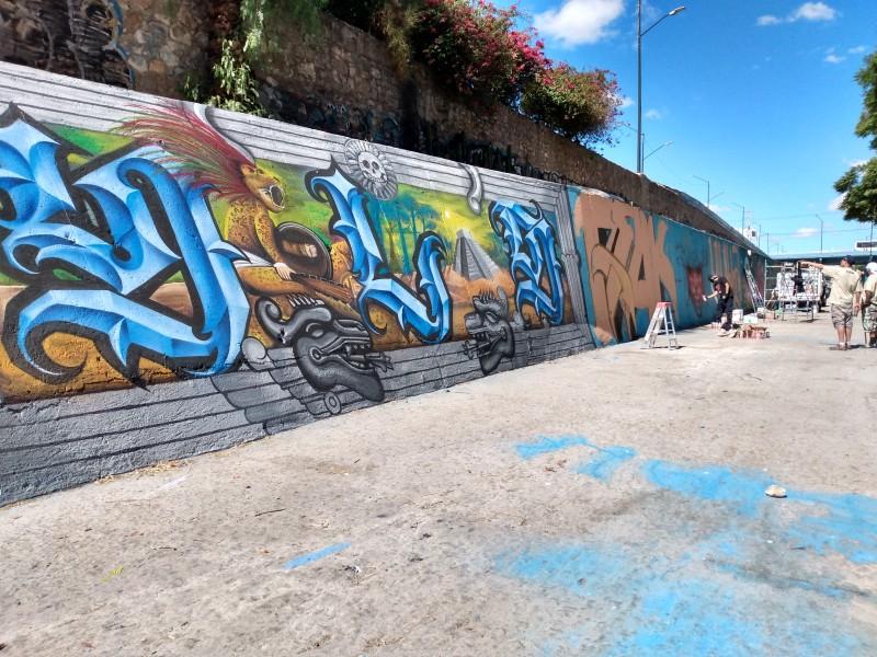 Desde CDMX a León; Malecolor acoge artistas urbanos foráneos