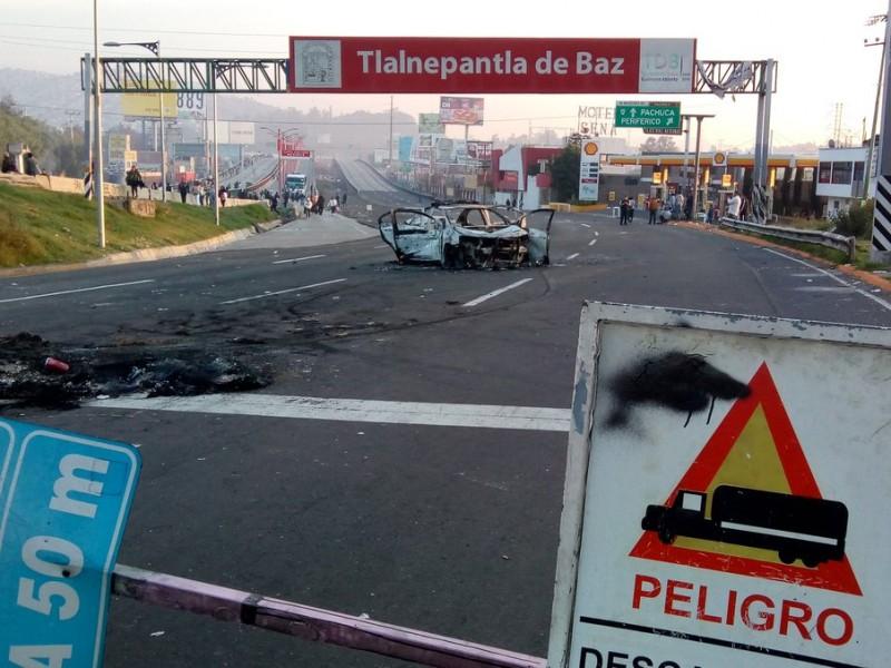 Autopista México-Pachuca se convierte en