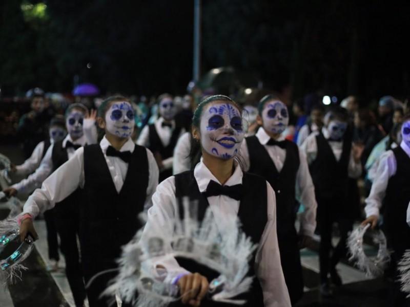 Desfile de Calaveras congregó a 120 mil espectadores