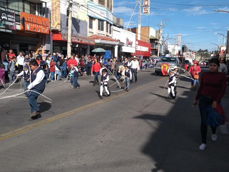 Desfile de la Revolución Mexicana.