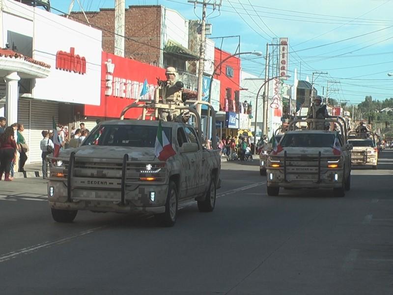 Desfile por 209 aniversario de independencia de México