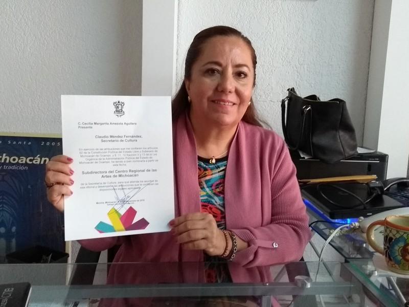 Designan nueva Directora del CRAM en Zamora