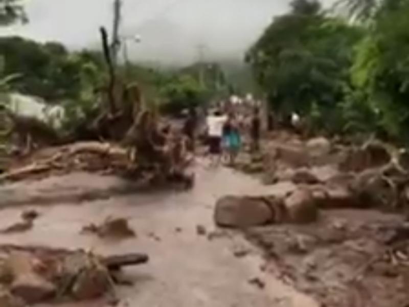1 muerto, 10 heridos deja deslizamiento de lodo en Chiapas