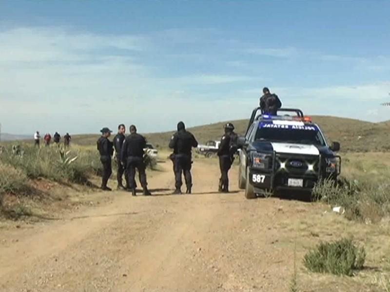 Desmantelan campamento utilizado por un grupo delincuencia