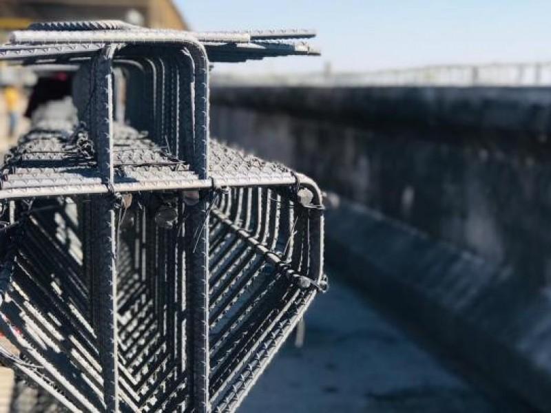 Desmedido aumento en acero y cemento, afirma CMIC