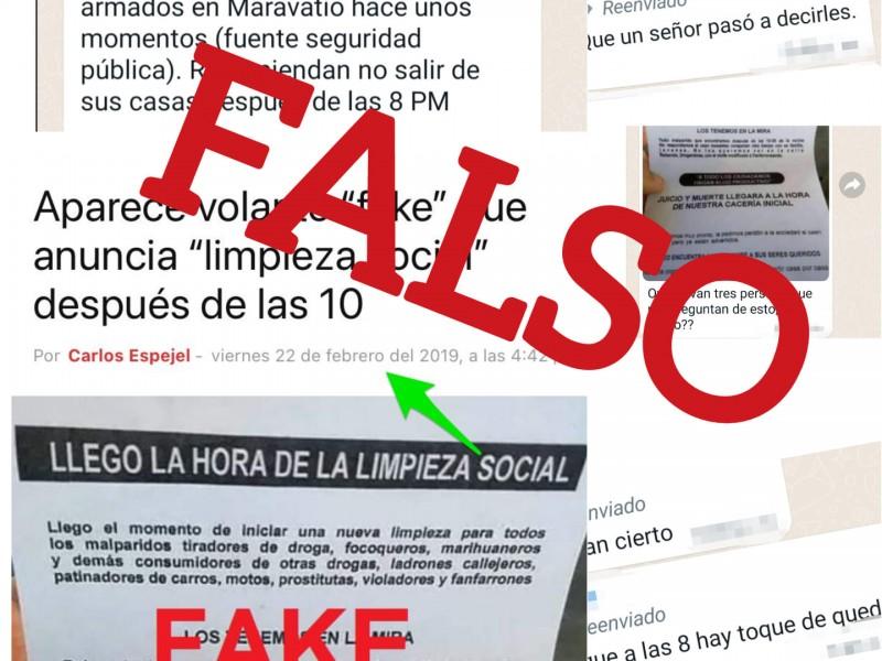 Desmiente ayuntamiento de Maravatío presunto