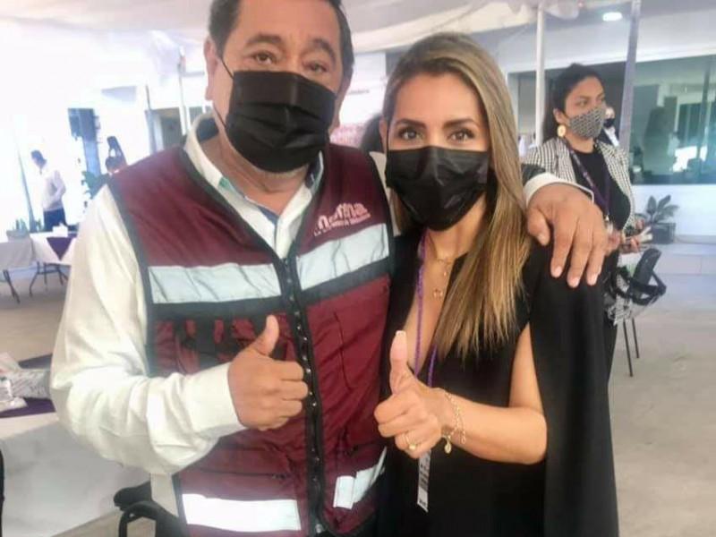 Desmiente Evelyn Salgado que sustituirá a Félix Salgado en candidatura