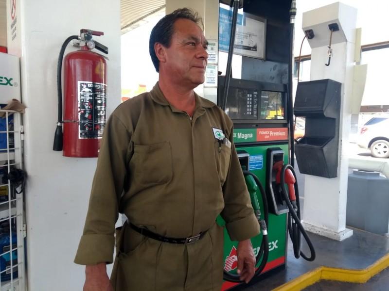 Despachadores perdían hasta 300 pesos diarios