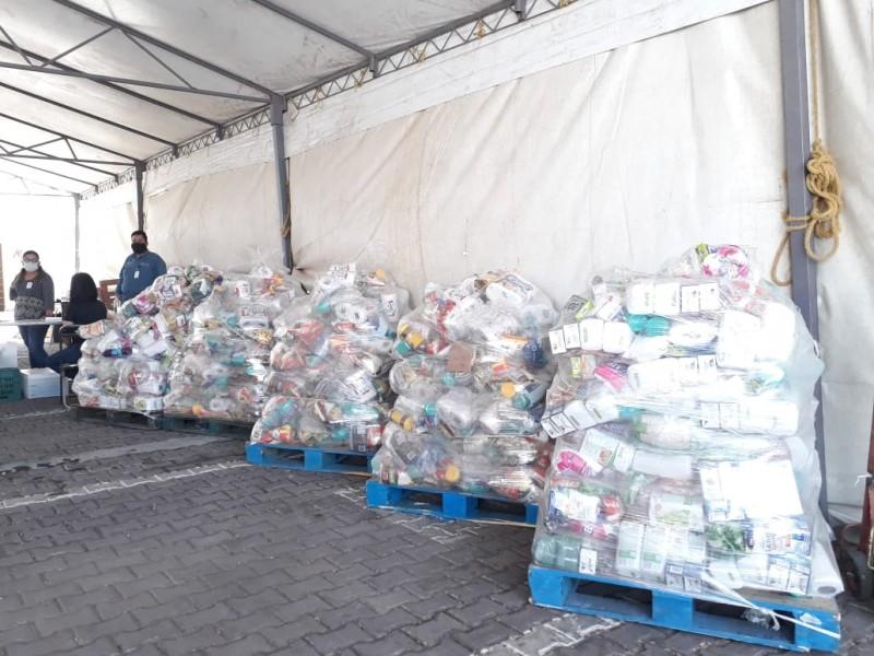 Despensas deben ser repartidas no almacenadas; Diputada Marisol Sánchez