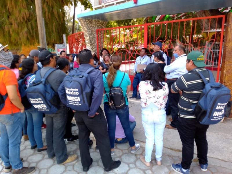 Despiden a entrevistadores de Inegi en Tehuacán; Covid-19 recorta contrato
