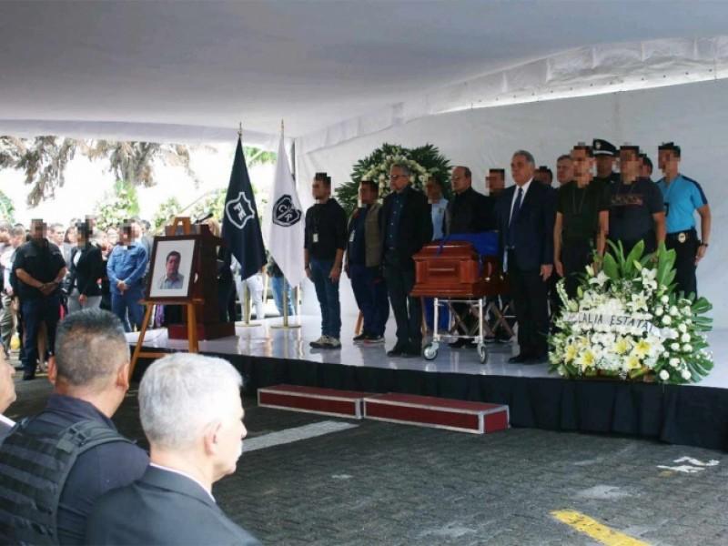 Despiden a fiscal asesinado en Jalisco