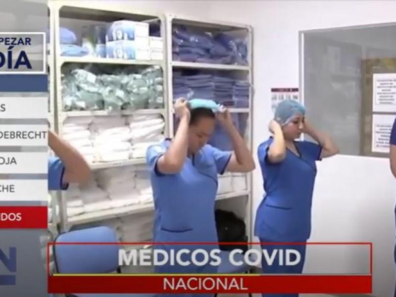 Despiden a personal médico en plena tercera ola de pandemia