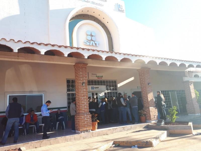 Despido masivo del SAT impacta a Sinaloa