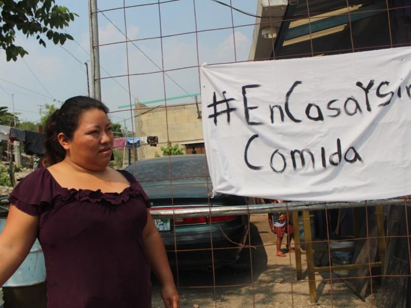 Despidos dejan sin recursos alimentarios a familias Chiapanecas
