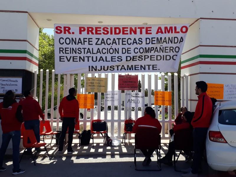 Despidos masivos de Conafe llegan a Zacatecas