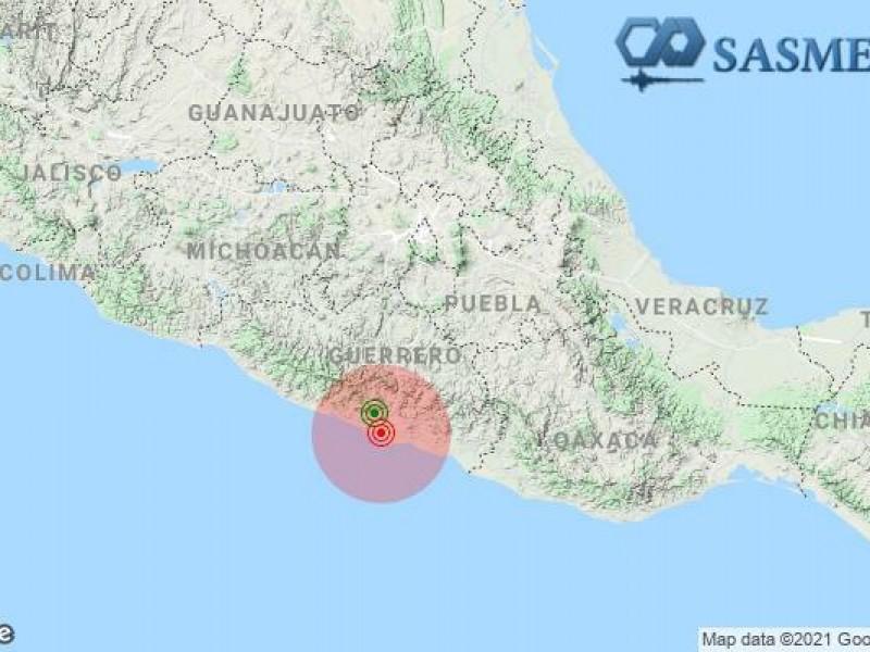 Despiertan con sismo en Guerrero