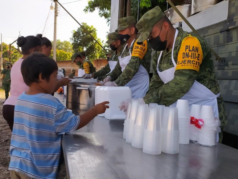 Despliega ejército mexicano 300 elementos en Plan DNIII