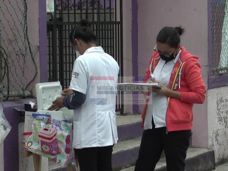 Despliegan campaña de vacunación contra Sarampión y Rubéola