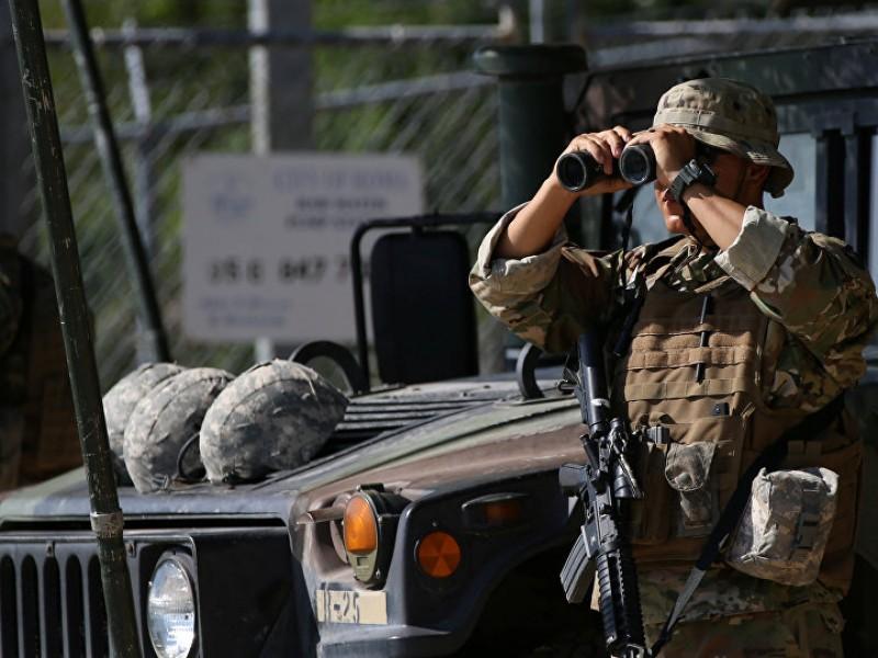 Despliegan Guardia Nacional en la frontera sur