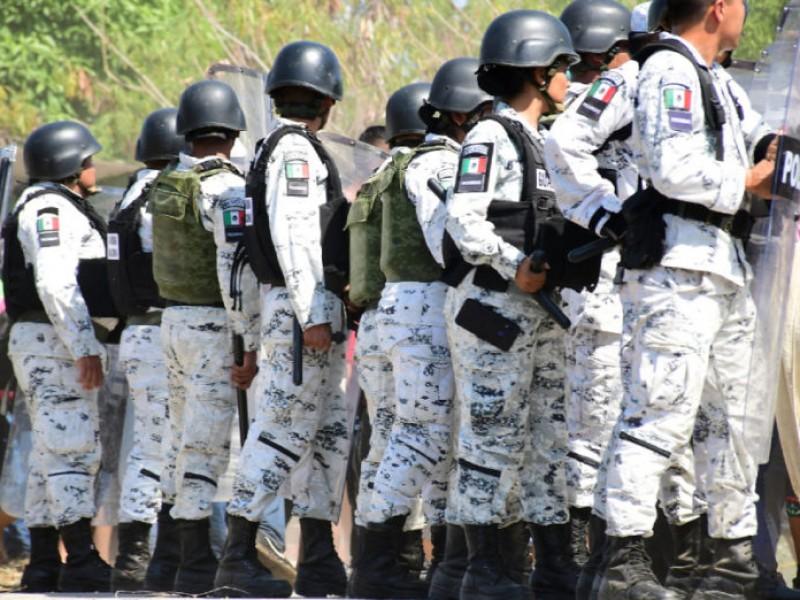 Despliegan operativo en frontera sur ante caravana migrante