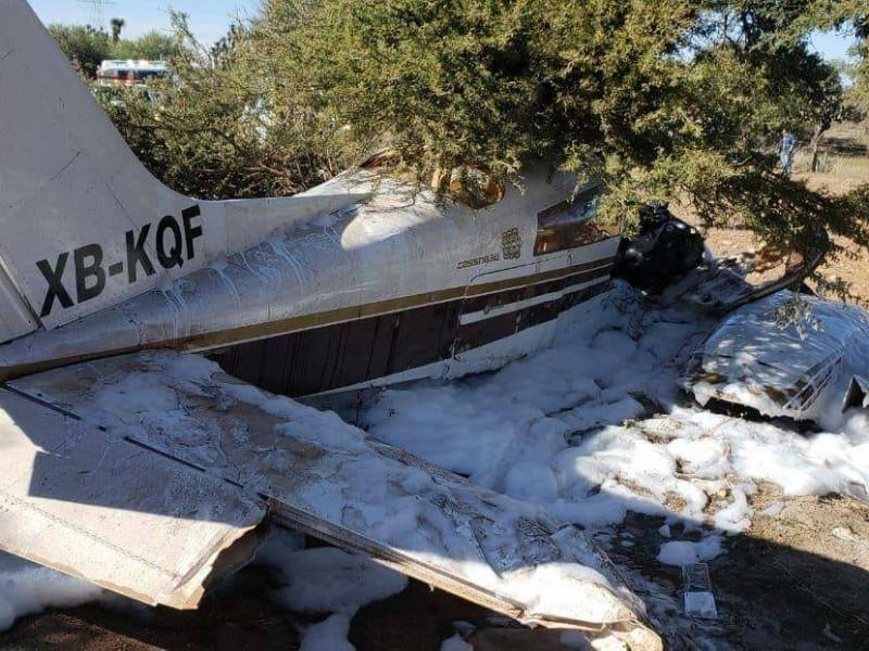 Desplome de avioneta deja un muerto
