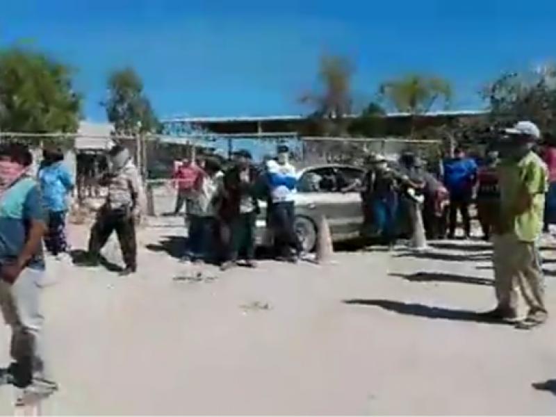 Después de meses sin permitirseles laborar, pepenadores bloquearon relleno sanitario