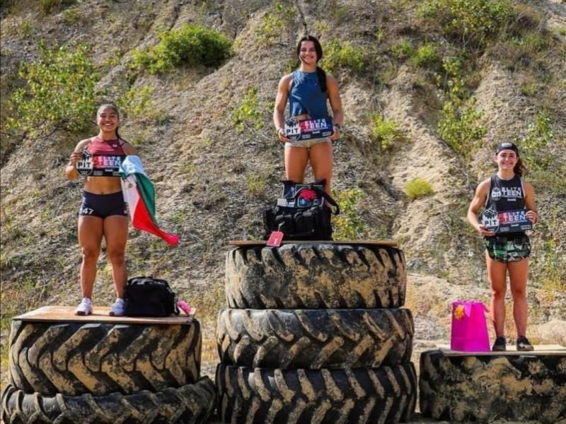 Destaca Paulina Haro en evento internacional de Crossfit