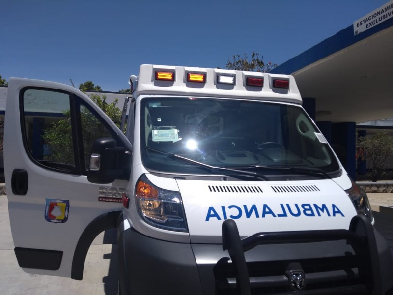 Destinan 8 ambulancias de urgencias avanzadas a Municipio