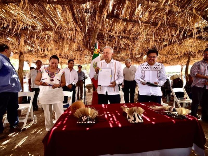 Destinará Gobierno Federal mil mdp para Tribu Yaqui en 2021