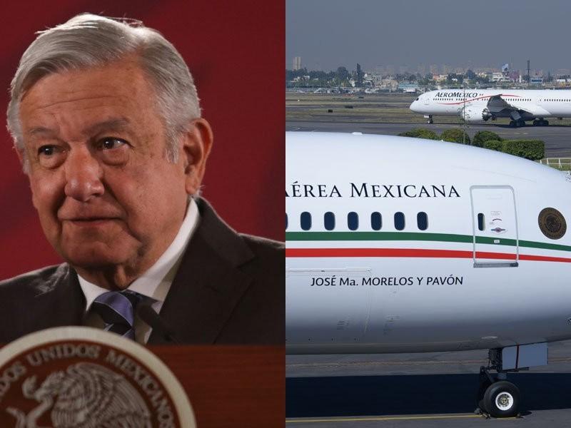 Destino de avión presidencial será revelado mañana: AMLO