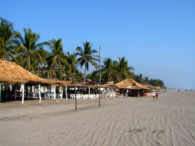 Destinos de playa en Chiapas, vacios ante Coronavirus