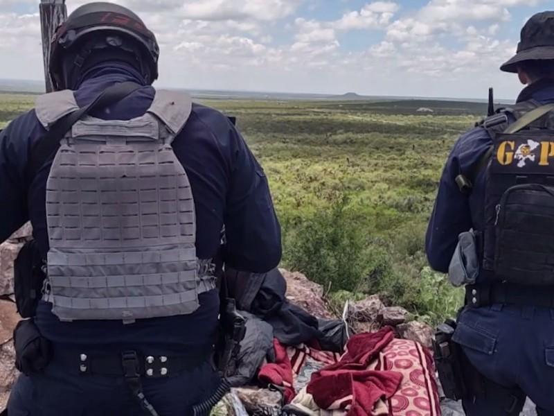 Destruyen campamento utilizado por un grupo delincuencial