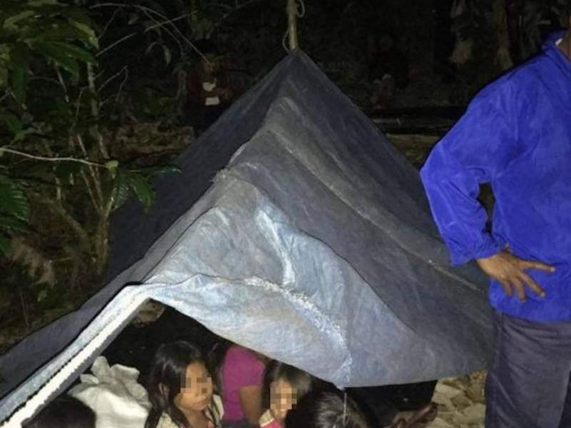 Destruyen campamentos de personas desplazadas