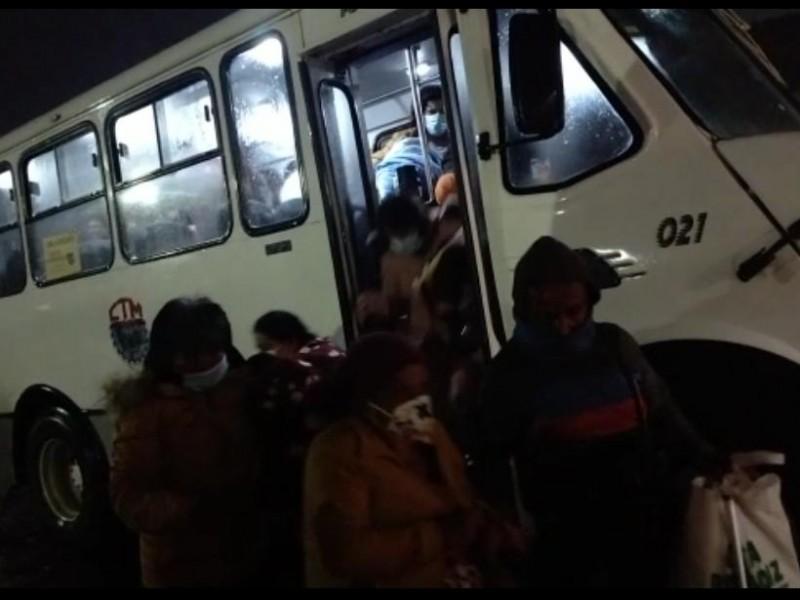 Desvío temporal de rutas en Tequisquiapan y SJR por lluvias