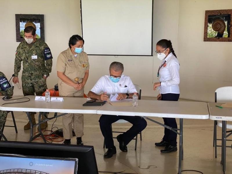Detallan logística para aplicación de vacuna COVID en Guerrero