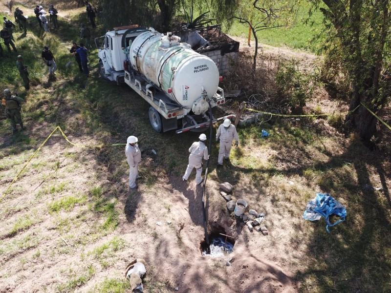 Detectan fuga de combustibles en Pedro Escobedo